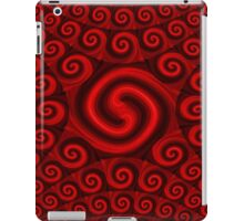 Red Christmas Decoration #4 iPad Case/Skin