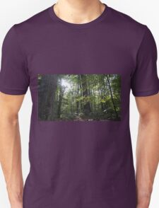 Gleaming Hope in the Forest. Unisex T-Shirt