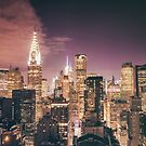 Chrysler Building - Night - New York City by Vivienne Gucwa