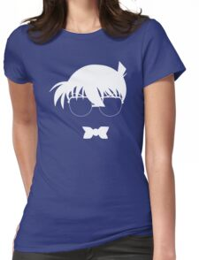 Conan (White) Womens Fitted T-Shirt