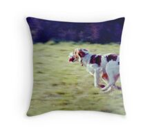 Rory the Raker! Throw Pillow