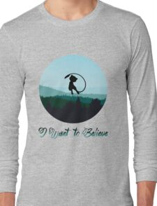 I Want to Believe in Mew Long Sleeve T-Shirt