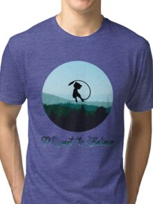 I Want to Believe in Mew Tri-blend T-Shirt