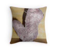 Hairy YAM. Throw Pillow