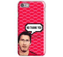Markiplier - NO THANK YOU iPhone Case/Skin