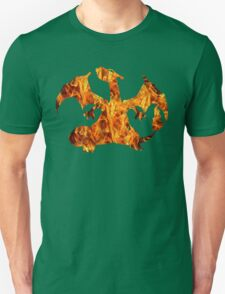Pokemon: Textured - Charizard T-Shirt