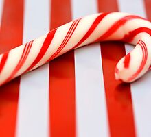 Candy cane by Victoria Bennett
