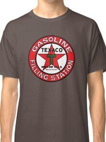 TEXACO VINTAGE OLD GASOLINE MOTOR Classic T-Shirt