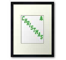 UGLY CHRISTMAS SWEATER! Framed Print