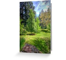 """""""Wairoa"""" - Private Gardens, Stirling, Adelaide Hills Greeting Card"""