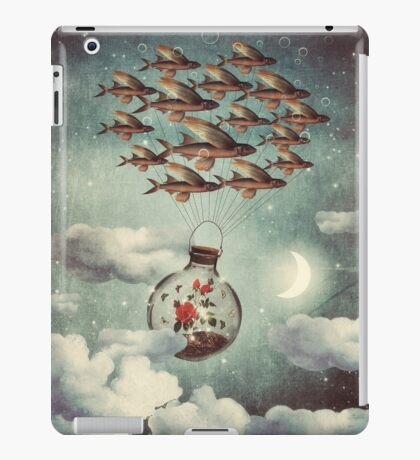 The Rose That Wanted to See the World iPad Case/Skin