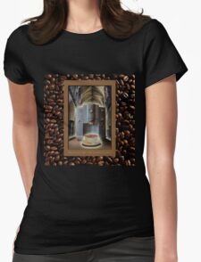 Blessed be the Cappuccino Womens Fitted T-Shirt
