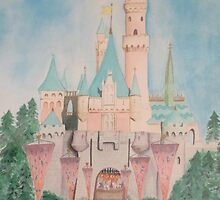 Mom's Favorite Disney Castle by Cookery