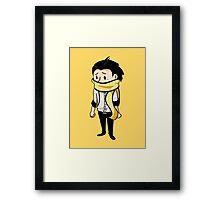 Sad Ryoji  Framed Print