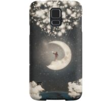 The Big Journey of the Man on the Moon Samsung Galaxy Case/Skin