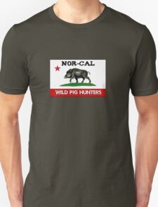 Nor-Cal Wild Pig Hunters (Full-Color) Unisex T-Shirt