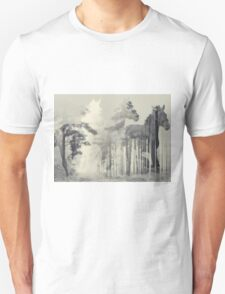 Like a horse in the woods Unisex T-Shirt