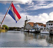 Willemstad Harbour by Adri  Padmos