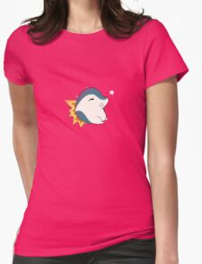 Chubby Cyndaquil  Womens Fitted T-Shirt