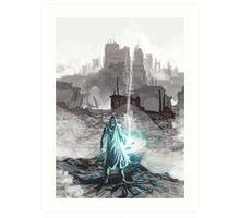 mage wizard destruction wars Art Print