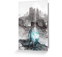 mage wizard destruction wars Greeting Card