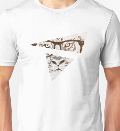The Hipster Tiger Unisex T-Shirt
