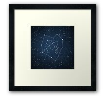 Love Constellation Framed Print