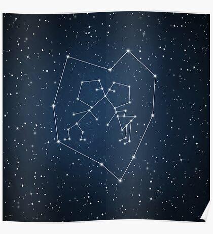 Love Constellation Poster