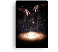 The Greatest Puppeteer Canvas Print
