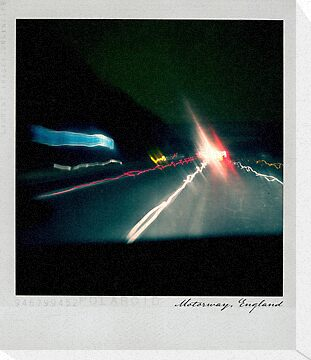 Motorway Polaroïd by Laurent Hunziker