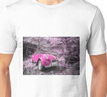 Pink 2CV  Unisex T-Shirt