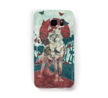 Lady Butterfly Samsung Galaxy Case/Skin