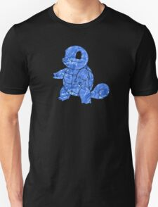 Pokemon: Textured - Squirtle T-Shirt