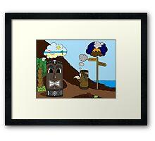 Tiki Adventure Framed Print