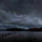 Moody Evening at Derwentwater, Cumbria, England by Bob Culshaw
