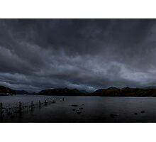 Moody Evening at Derwentwater, Cumbria, England Photographic Print