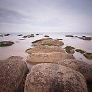 Hunstanton Rocks by Jon Bradbury