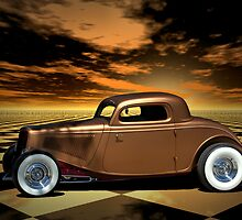 "1934 Ford ""Copper Tone"" Hot Rod by TeeMack"