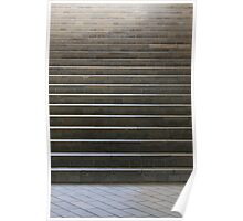 Tiled Staircase Poster