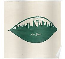 New York Skyline at Sunrise Poster