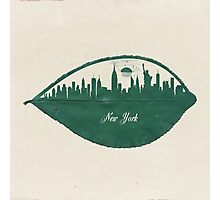 New York Skyline at Sunrise Photographic Print