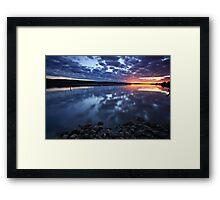 """Mirror-ed Tamar"" Framed Print"