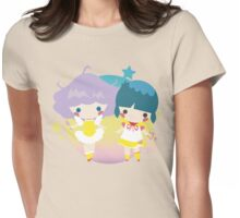 creamy and yu tshirt Womens Fitted T-Shirt