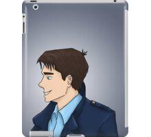 Captain Jack Harkness Profile iPad Case/Skin