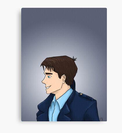 Captain Jack Harkness Profile Canvas Print