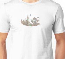 4 o'clock tea London Map Unisex T-Shirt