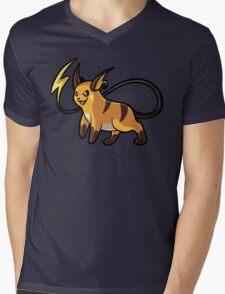 Raichu Mens V-Neck T-Shirt