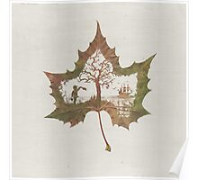 The Memories of a Leaf: Good Bye Poster