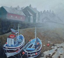 Yorkshire mist by Carole Russell