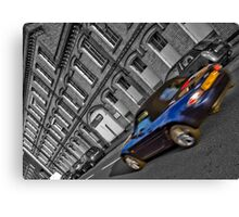 Drive-by Canvas Print